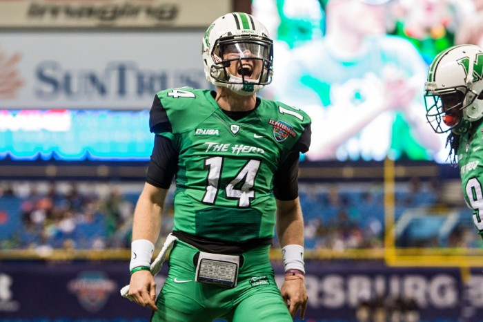 NCAA FOOTBALL: DEC 26 St. Petersburg Bowl - UConn v Marshall